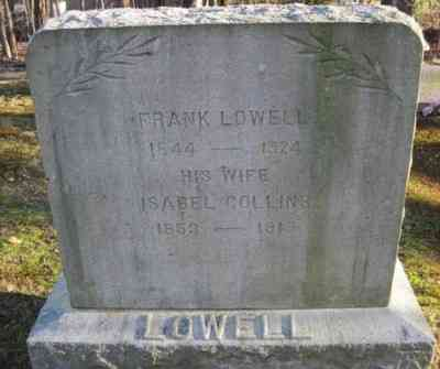 Frank LOWELL - Grave