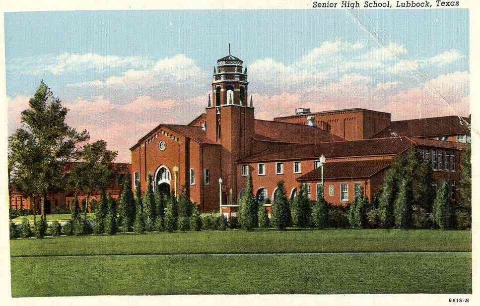 Lubbock, Texas, USA - Senior High School, Lubbock, Texas