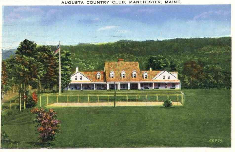 Manchester, Maine, USA - Augusta Country Club