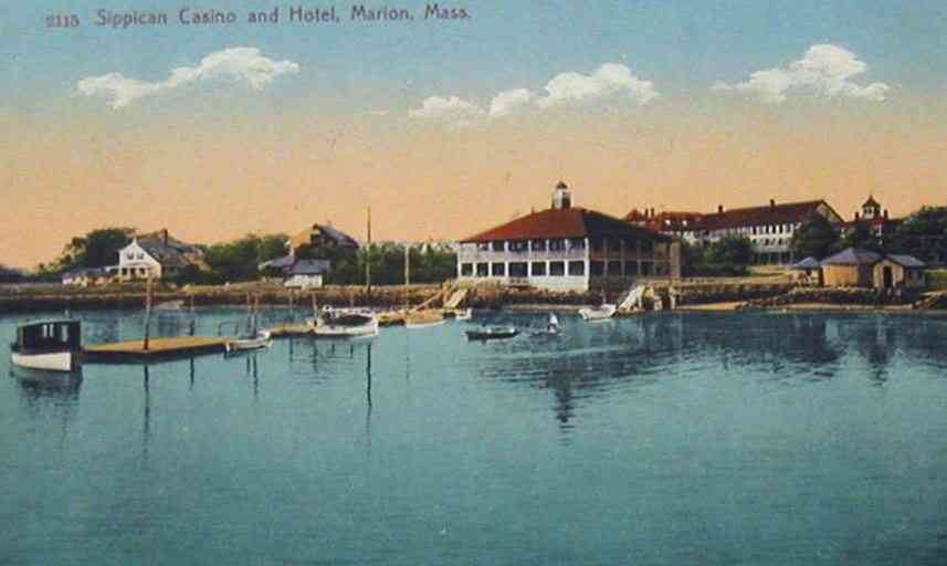 Marion, Massachusetts, USA - Sippican Casino and Hotel