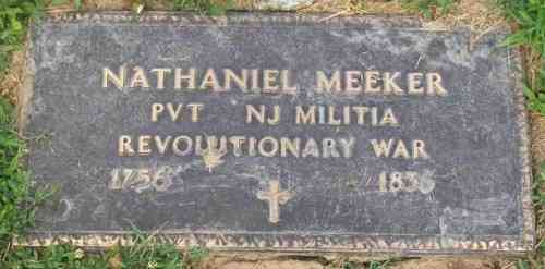 Nathaniel MEEKER - Grave