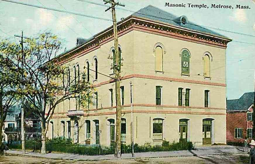 Melrose, Massachusetts, USA - Masonic Temple