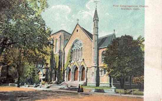 Meriden, Connecticut, USA - First Congregational Church