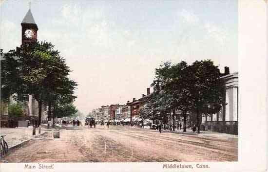 Middletown connecticut usa washington street middletown conn