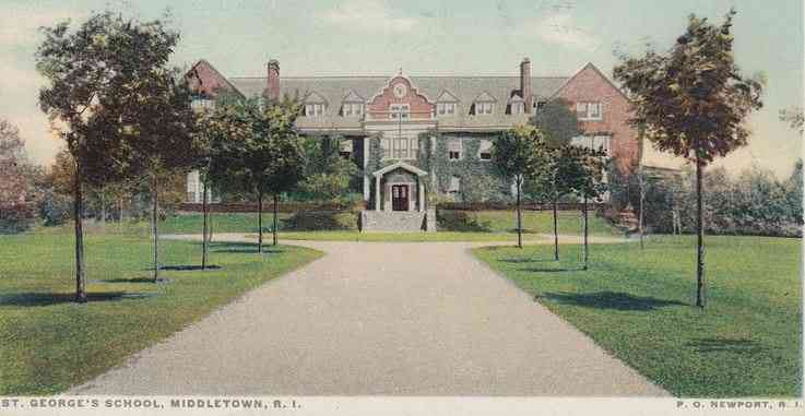 Middletown, Rhode Island, USA (Green's End) - St. George's School, Middletown, R. I.