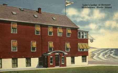 Middletown, Rhode Island, USA (Green's End) - Luke's Lodge of Newport