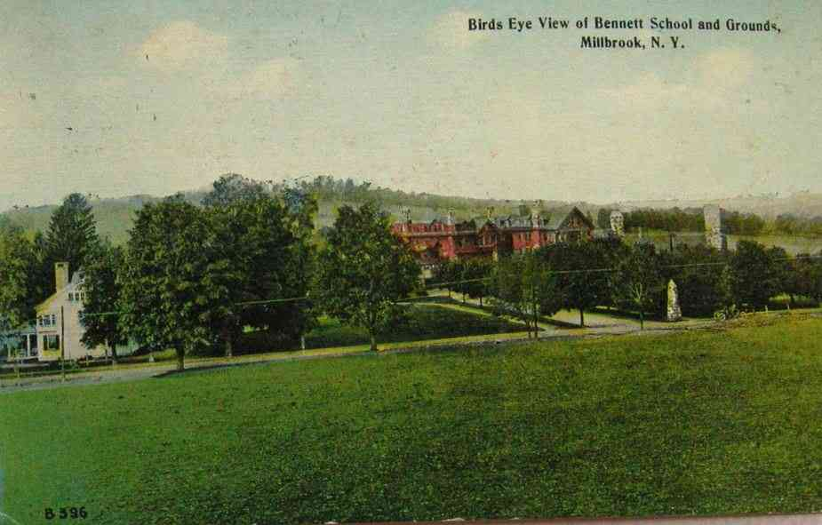 Washington, New York, USA (Millbrook) - Birds Eye View of Bennett School and Grounds, Millbrook, N.Y.