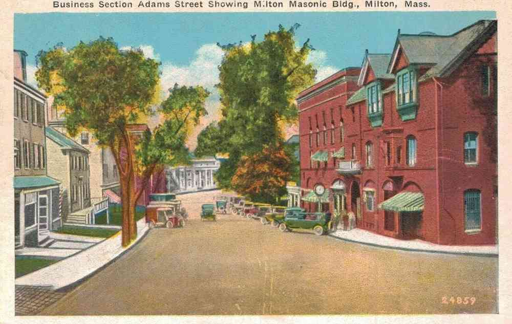 What Is The History Of Milton Massachusetts Usa