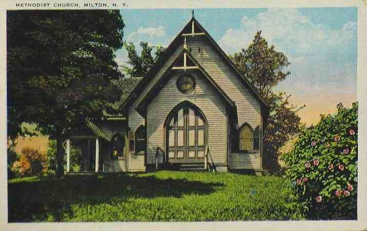 Ballston Spa, New York, USA (Ballston) (Milton) - Methodist Church, Milton, N. Y.
