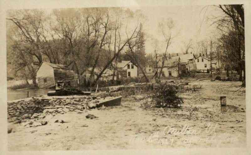 Milton, Vermont, USA - 1927 Flood - Milton, Vt.
