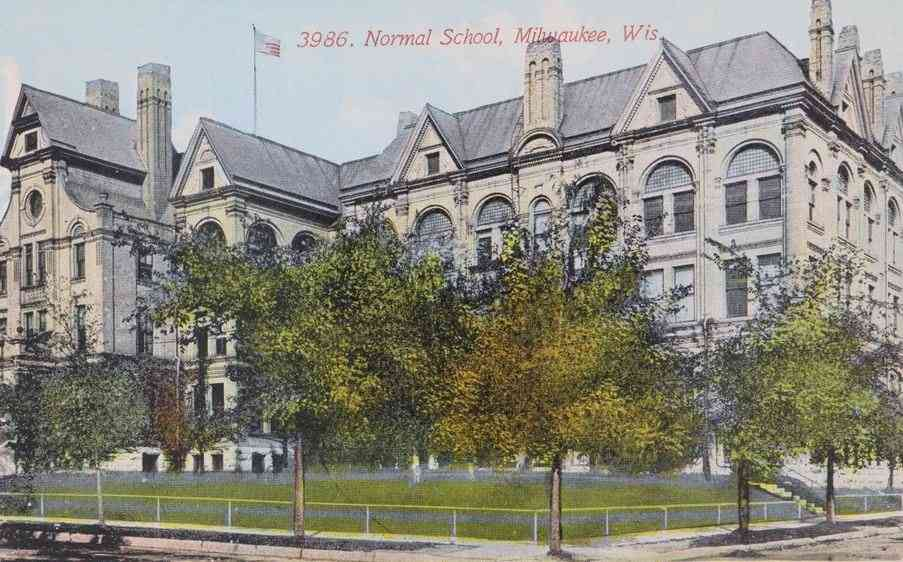 Milwaukee, Wisconsin, USA - Normal School, Milwaukee, Wis.