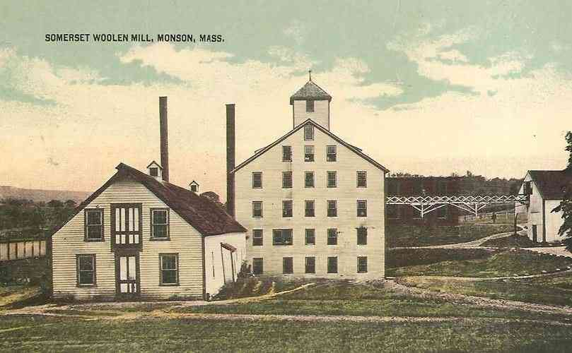 Monson, Massachusetts, USA - Somerset Woolen Mill, Monson, Mass.