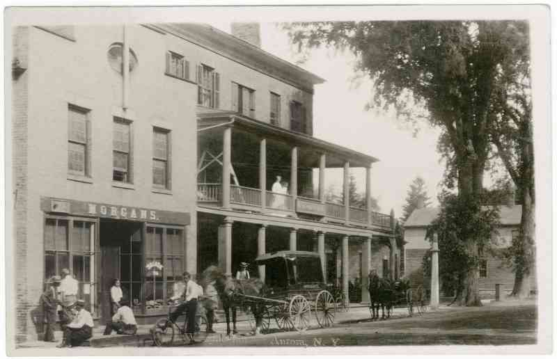 George Washington SALISBURY - Morgan's Store and Wayside Inn, Aurora, NY