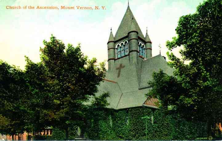 Mount Vernon, New York, USA - Church of the Ascension, Mount Vernon, N.Y.