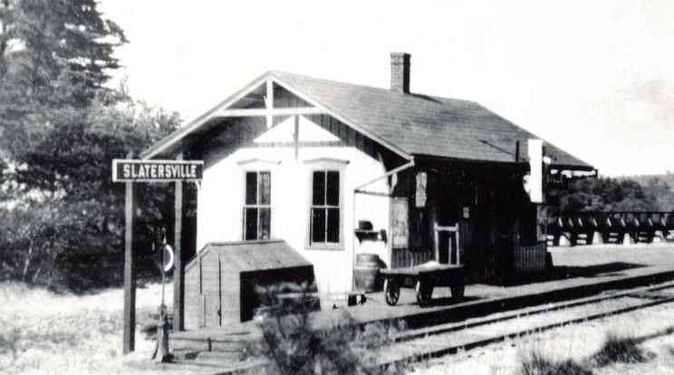North Smithfield, Rhode Island, USA (Forestdale) (Slatersville) - Slatersville Train Station