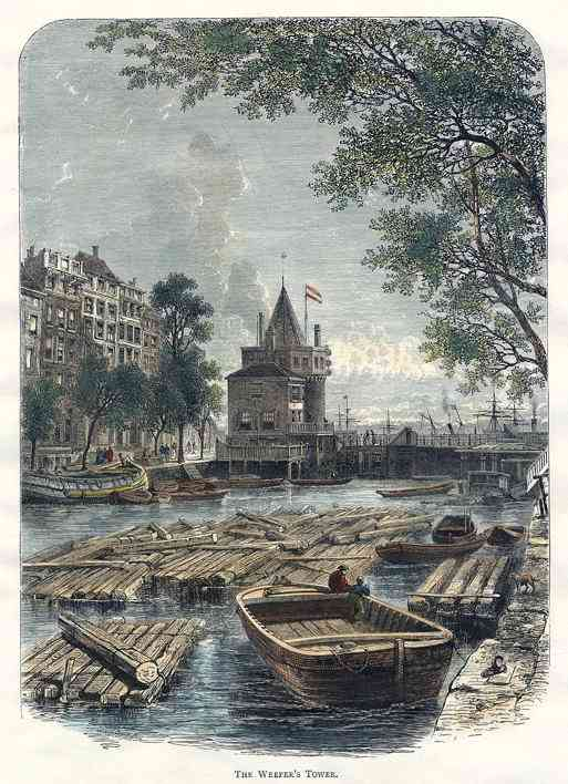 , Netherlands (Holland) - Weeper's Tower, Amsterdam