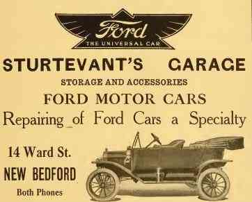 New Bedford, Massachusetts, USA - Sturtevant's Garage