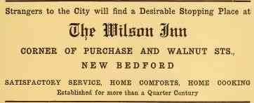 New Bedford, Massachusetts, USA - The Wilson Inn