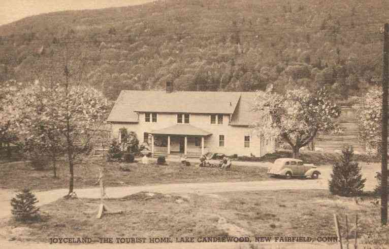 New Fairfield, Connecticut, USA - Joyceland - The Tourist Home, Lake Candlewood, New Fairfield, Conn.