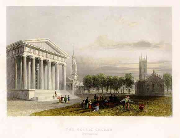 New Haven, Connecticut, USA - The Gothic Church