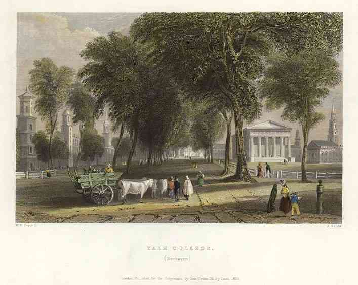 New Haven, Connecticut, USA - Yale College