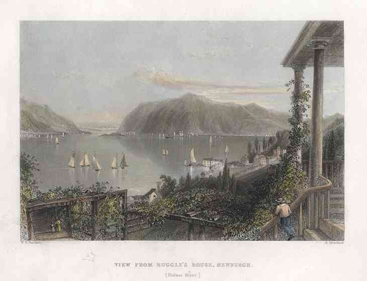 Newburgh, New York, USA - View from Ruggle's House, Newburgh