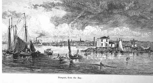 Newport, Rhode Island, USA - Newport, from the Bay