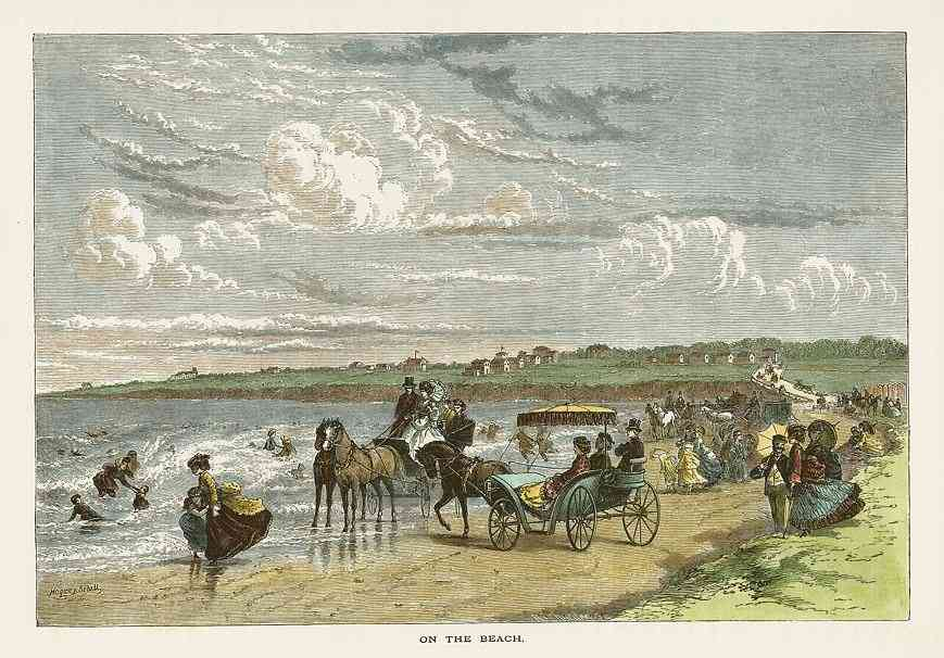 Newport, Rhode Island, USA - On the Beach