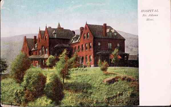 North Adams, Massachusetts, USA - Hospital. No. Adams, Mass.