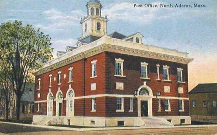 North Adams, Massachusetts, USA - Post Office, North Adams, Mass.