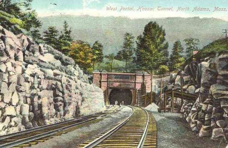 North Adams, Massachusetts, USA - West Portal, Hoosac Tunnel, North Adams, Mass.