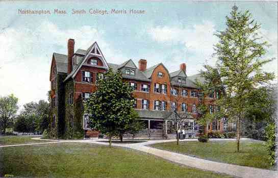 Northampton, Massachusetts, USA  - Northampton, Mass. Smith College. Morris House