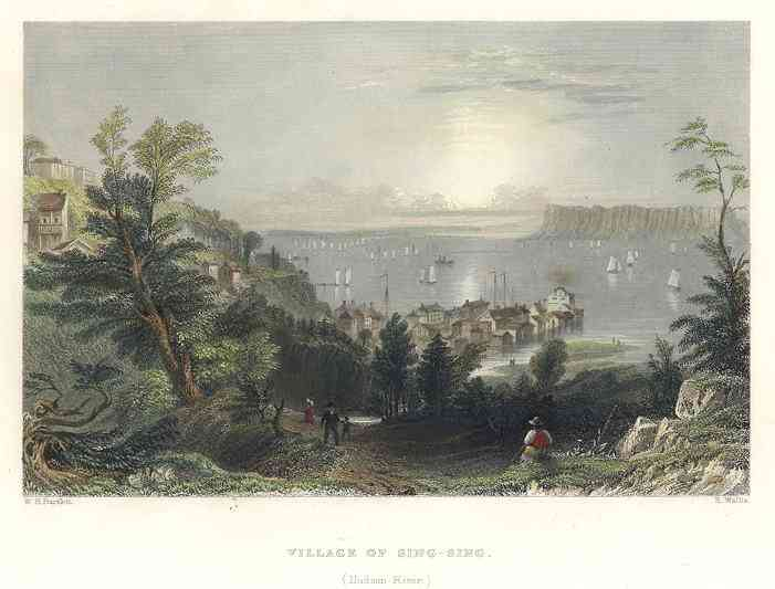 Ossining, New York, USA - Village of Sing-Sing