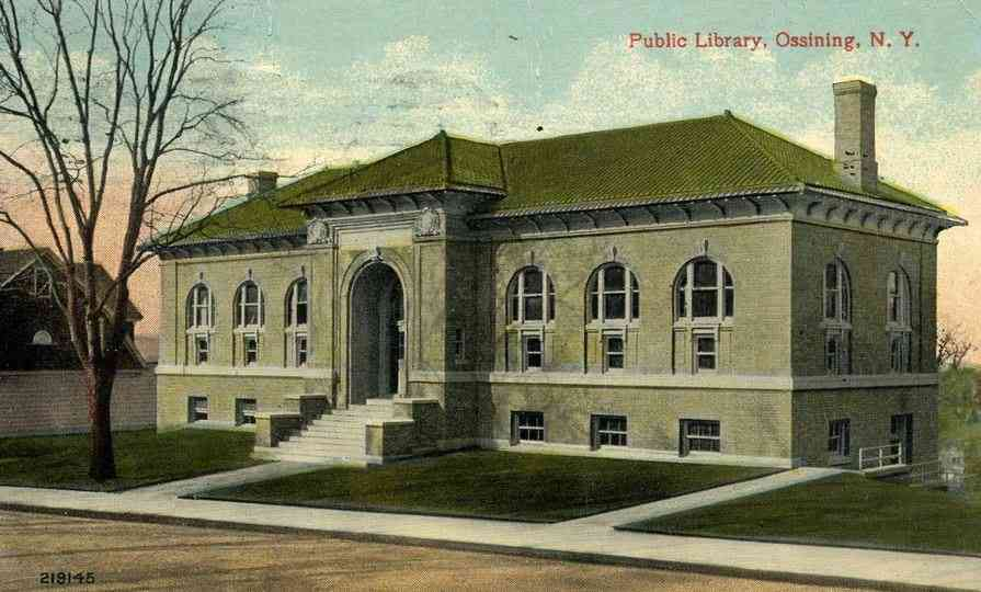 Ossining, New York, USA - Public Library