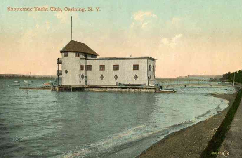 Ossining, New York, USA - Shattemuc Yacht Club