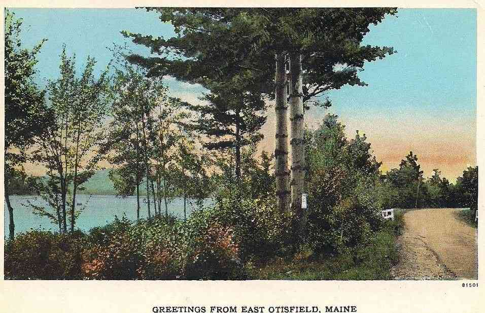Otisfield, Maine, USA - Greetings from East Otisfield, Maine