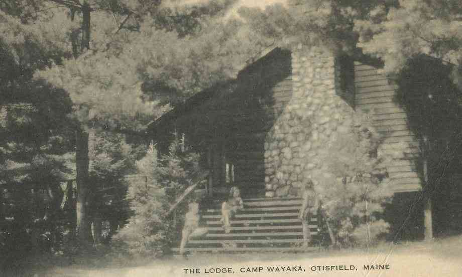Otisfield, Maine, USA - The Lodge, Camp Wayaka, Otisfield, Maine