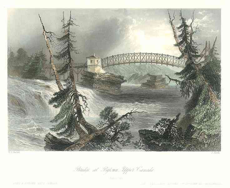 Ottawa, Ottawa, Ontario, Canada - Bridge at Bytown, Upper Canada