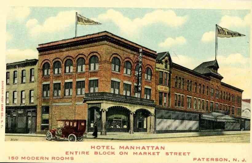 Paterson New Jersey Usa Hotel Manhattan
