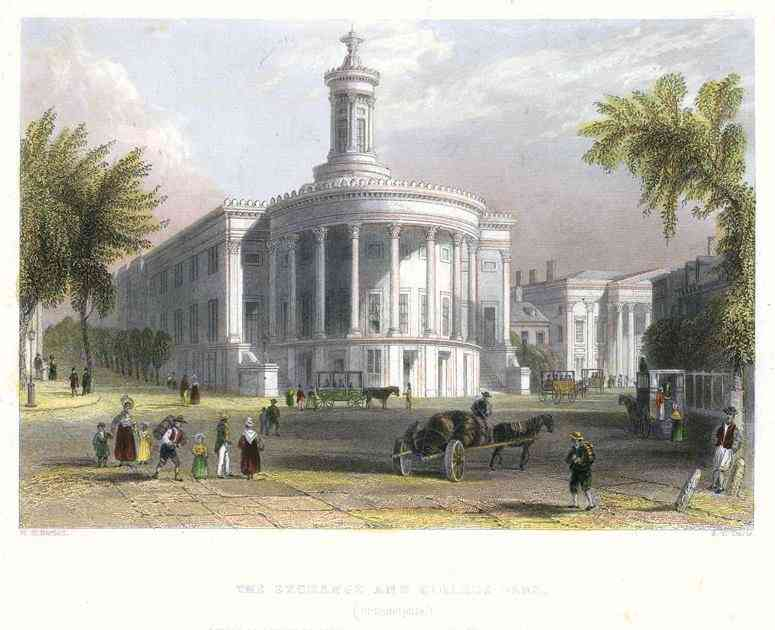 Philadelphia, Pennsylvania, USA - The Exchange and Girards Bank