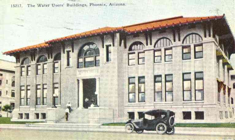 Phoenix, Arizona, USA - The Water Users' Buildings 