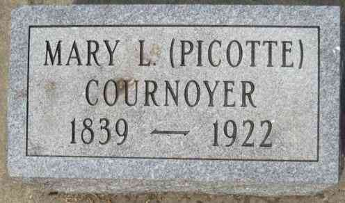 Mary Louise PICOTTE - Grave