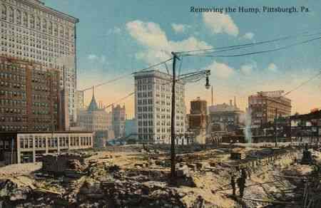 Pittsburgh, Pennsylvania, USA - Removing the Hump, Pittsburgh, Pa.