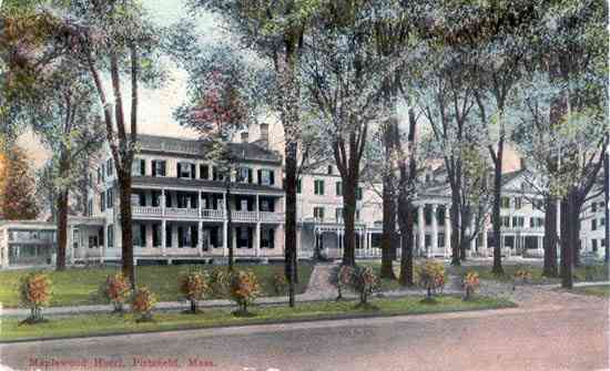 Pittsfield, Massachusetts, USA (Coltsville) - Maplewood Hotel. Pittsfield, Mass.