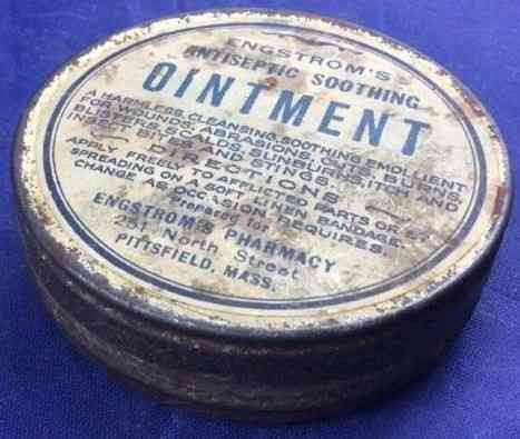 Pittsfield, Massachusetts, USA (Coltsville) - Engstrom's Antiseptic Soothing Ointment