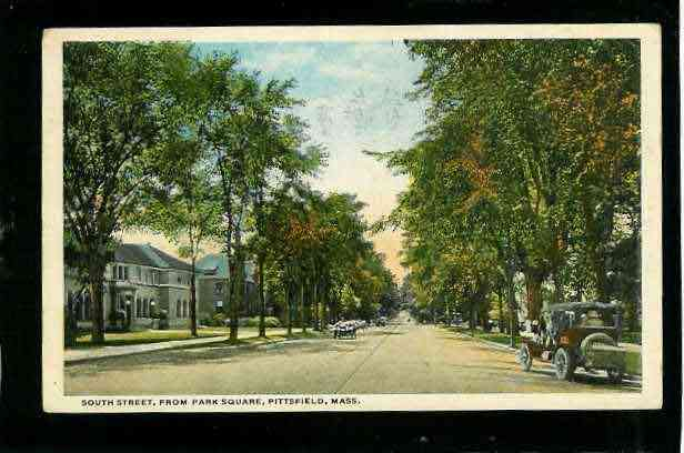 Pittsfield, Massachusetts, USA (Coltsville) - South St. Pittsfield, MA - 1916