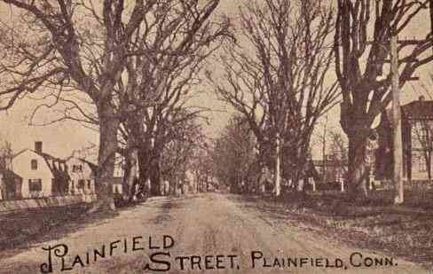 Plainfield, Connecticut, USA - Plainfield Street, Plainfield, Conn.