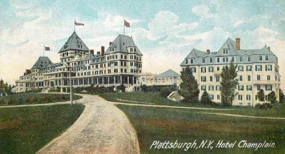 Plattsburgh New York Usa N Y Hotel Champlain