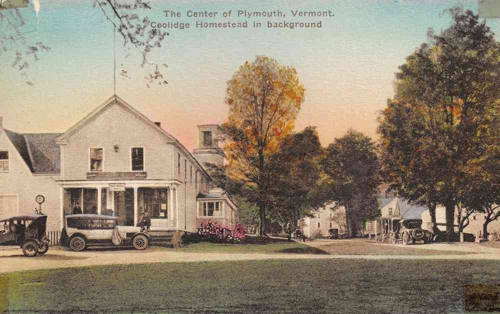Plymouth, Vermont, USA - The Center of Plymouth, Vermont.