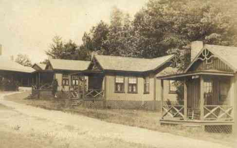 Poland, Maine, USA - Camp Maqua (1910)